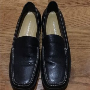 Women's Black Banana Republic Loafers